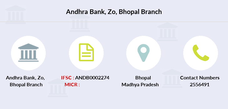Andhra-bank Zo-bhopal branch