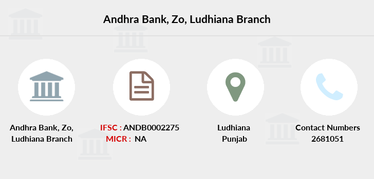 Andhra-bank Zo-ludhiana branch