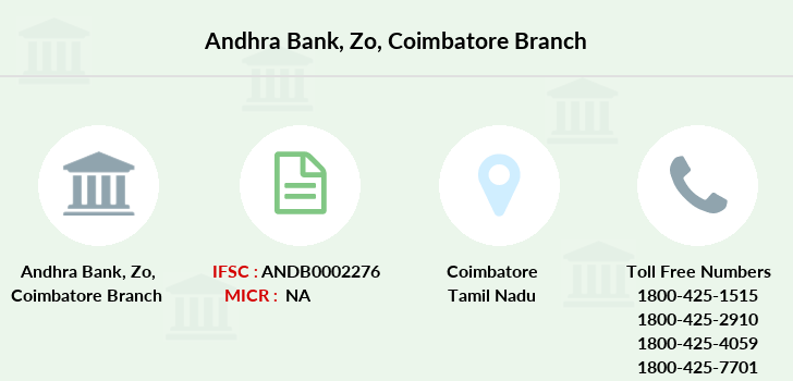 Andhra-bank Zo-coimbatore branch