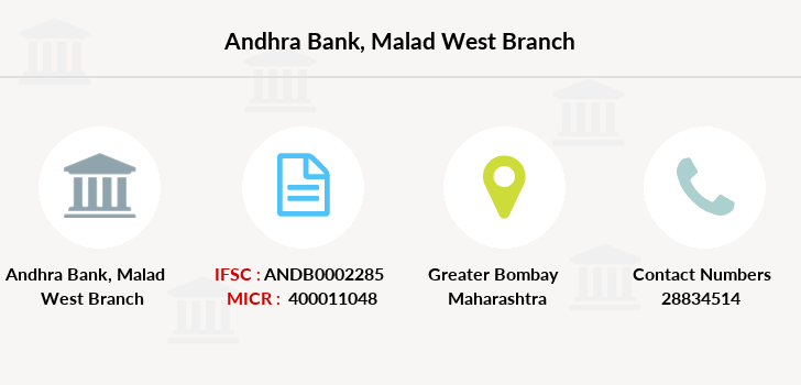 Andhra-bank Malad-west branch