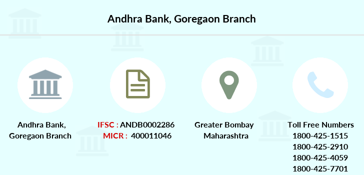 Andhra-bank Goregaon branch
