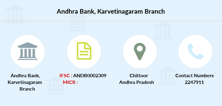 Andhra-bank Karvetinagaram branch