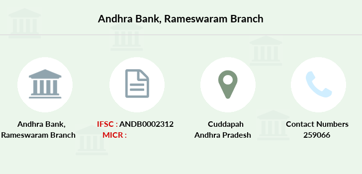 Andhra-bank Rameswaram branch