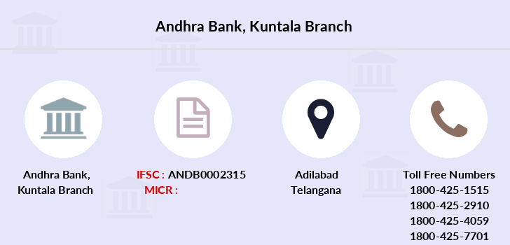 Andhra-bank Kuntala branch