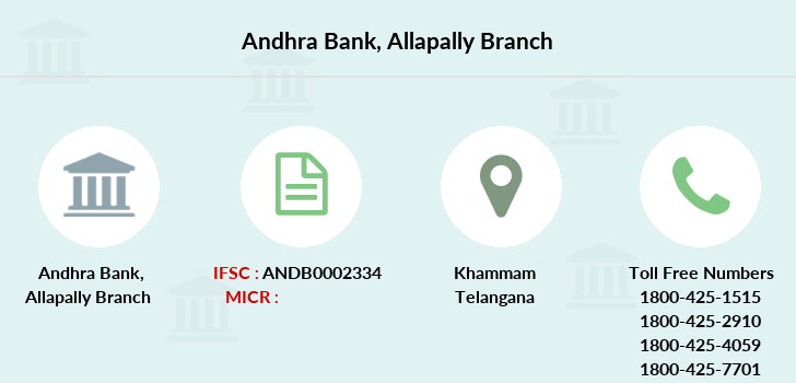 Andhra-bank Allapally branch