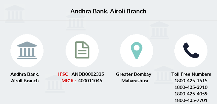 Andhra-bank Airoli branch