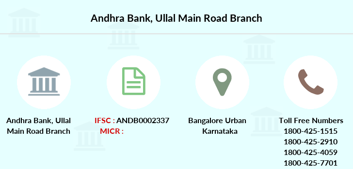 Andhra-bank Ullal-main-road branch