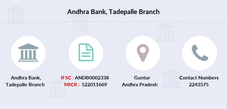 Andhra-bank Tadepalle branch