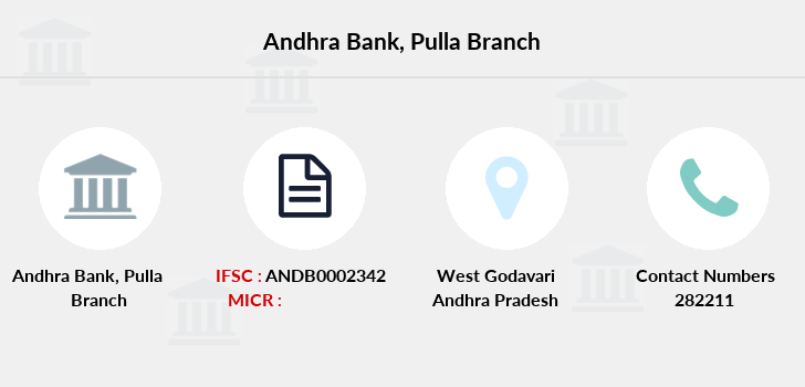 Andhra-bank Pulla branch