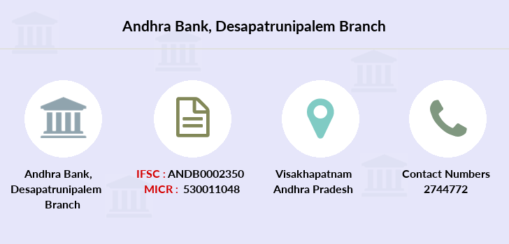 Andhra-bank Desapatrunipalem branch