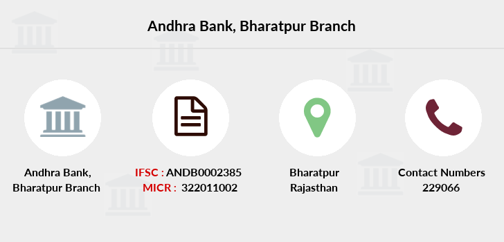 Andhra-bank Bharatpur branch