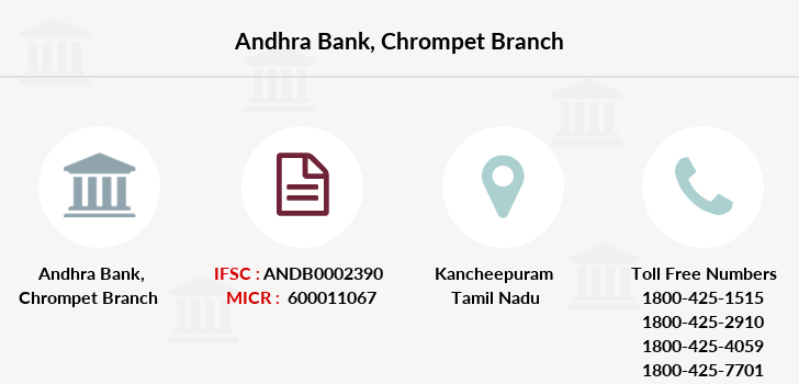 Andhra-bank Chrompet branch