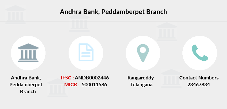 Andhra-bank Peddamberpet branch