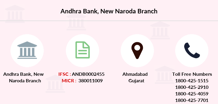 Andhra-bank New-naroda branch