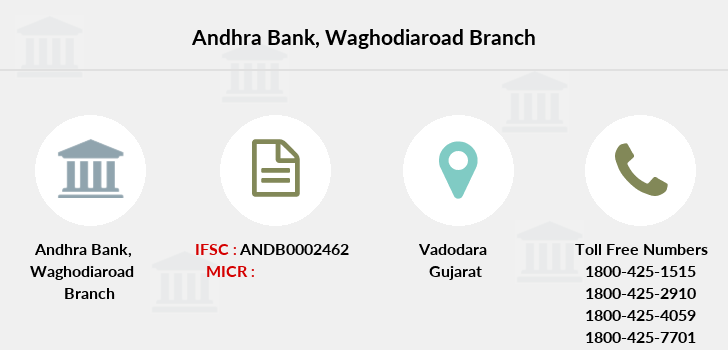 Andhra-bank Waghodiaroad branch