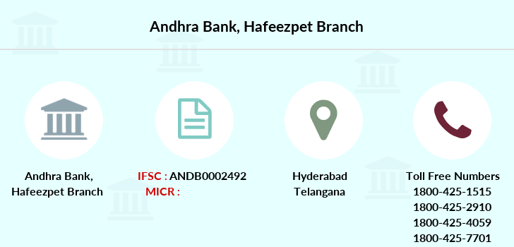 Andhra-bank Hafeezpet branch