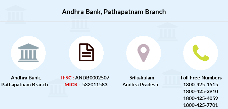 Andhra-bank Pathapatnam branch