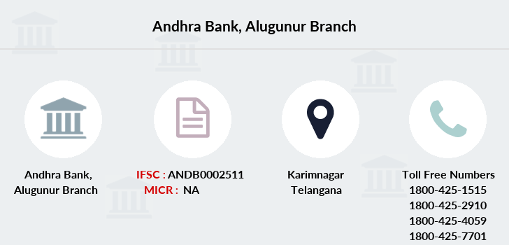 Andhra-bank Alugunur branch