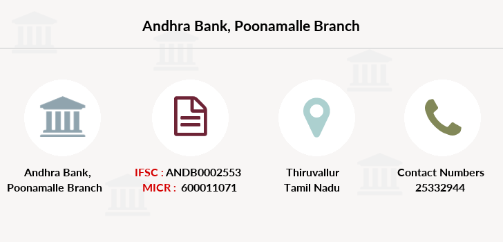Andhra-bank Poonamalle branch