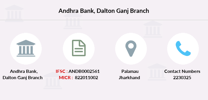 Andhra-bank Dalton-ganj branch