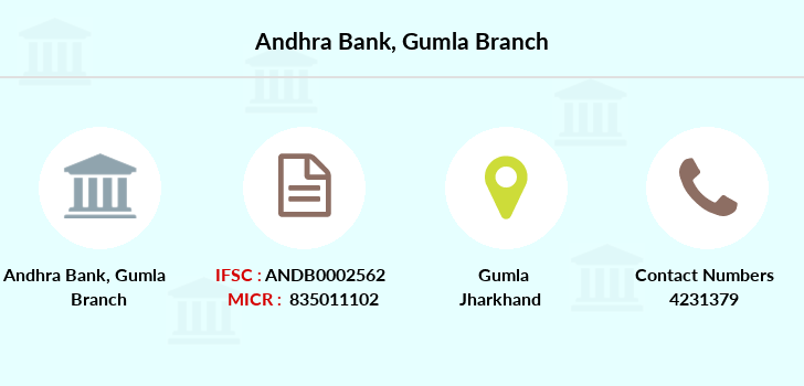 Andhra-bank Gumla branch