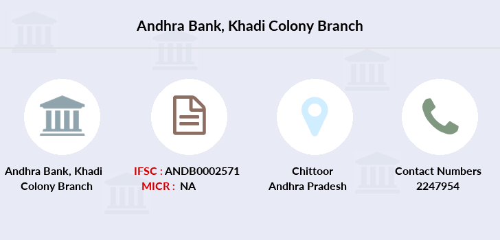 Andhra-bank Khadi-colony branch