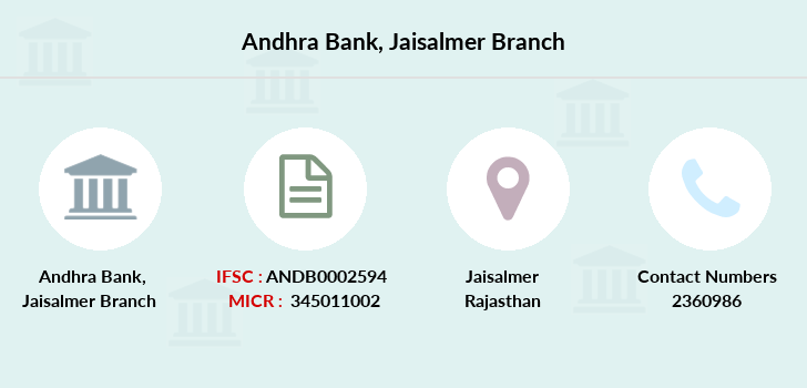 Andhra-bank Jaisalmer branch