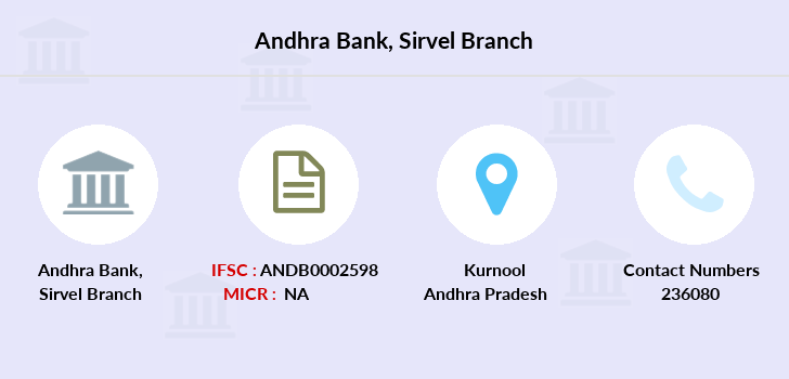 Andhra-bank Sirvel branch