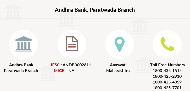 Andhra-bank Paratwada branch