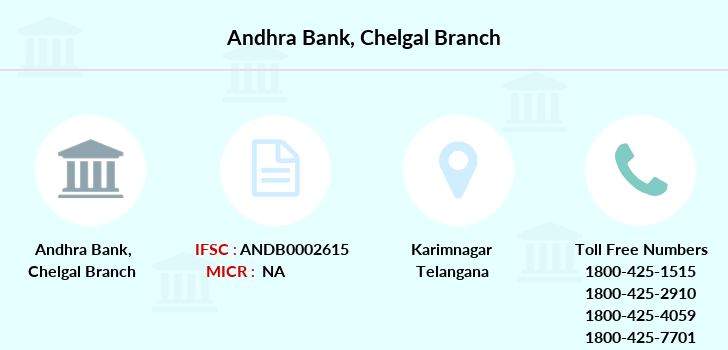 Andhra-bank Chelgal branch