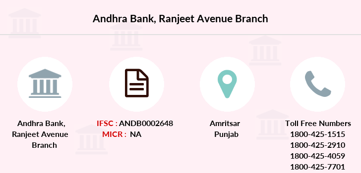 Andhra-bank Ranjeet-avenue branch