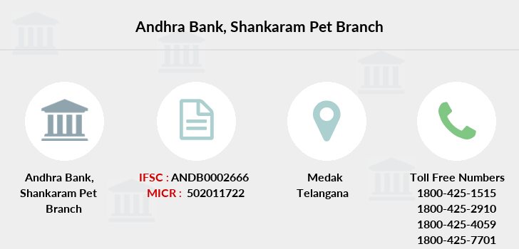 Andhra-bank Shankaram-pet branch