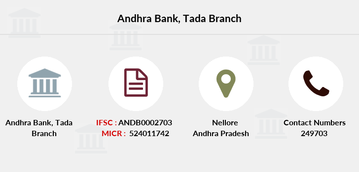 Andhra-bank Tada branch