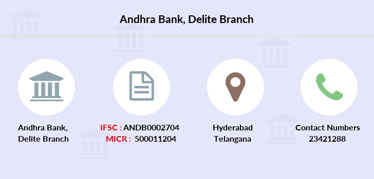 Andhra-bank Delite branch