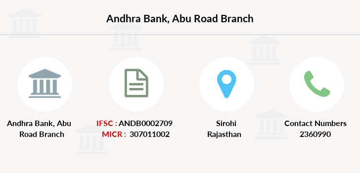 Andhra-bank Abu-road branch