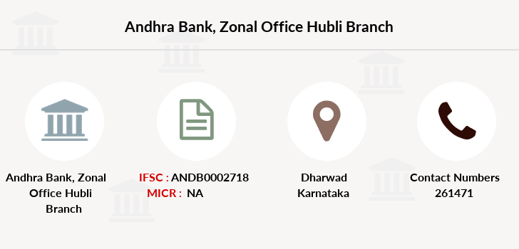 Andhra-bank Zonal-office-hubli branch