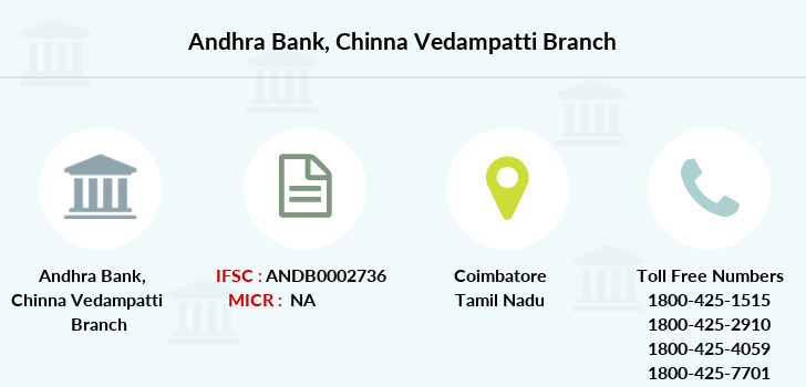 Andhra-bank Chinna-vedampatti branch