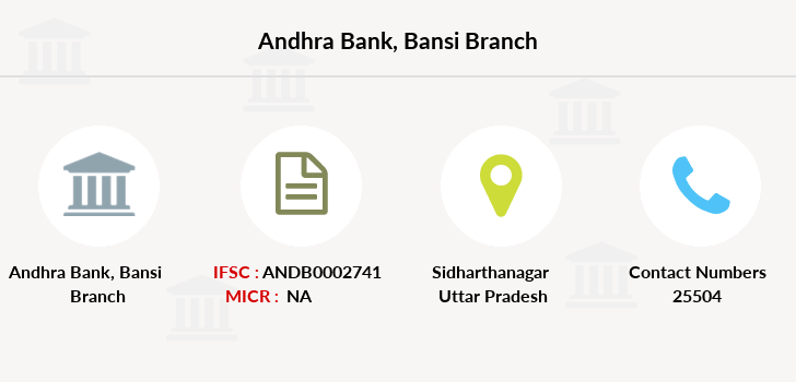 Andhra-bank Bansi branch