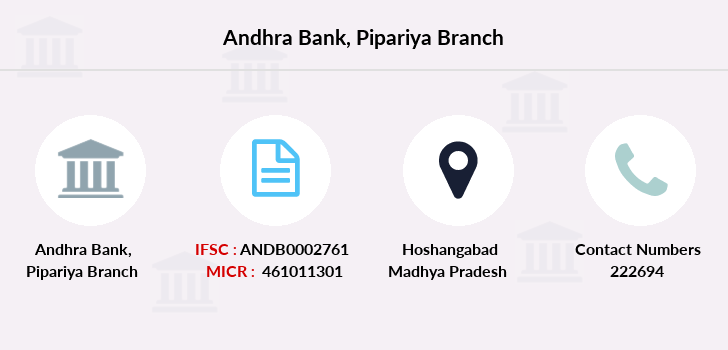 Andhra-bank Pipariya branch