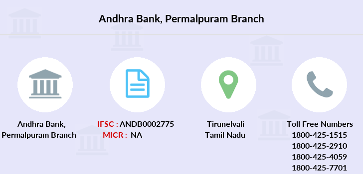 Andhra-bank Permalpuram branch