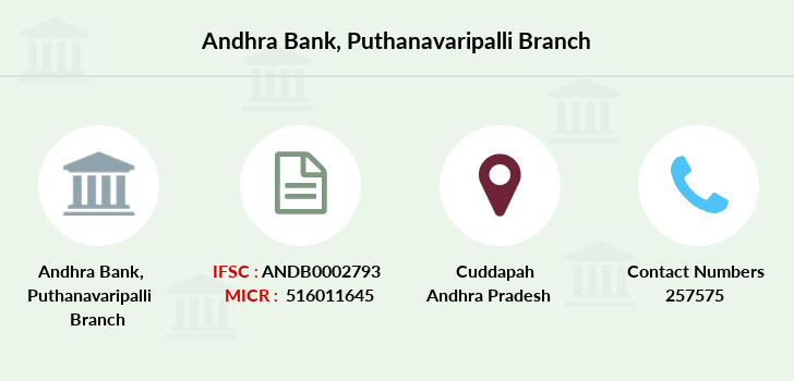 Andhra-bank Puthanavaripalli branch