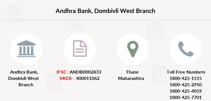 Andhra-bank Dombivli-west branch
