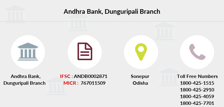 Andhra-bank Dunguripali branch