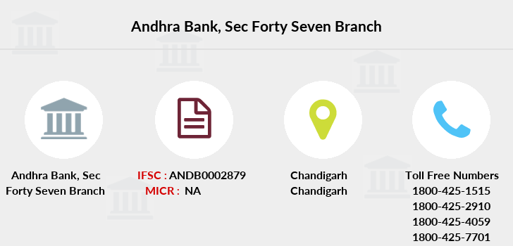 Andhra-bank Sec-forty-seven branch