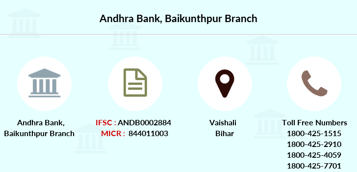 Andhra-bank Baikunthpur branch