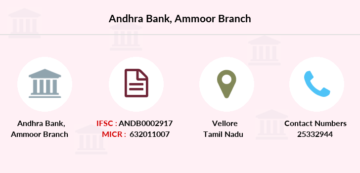 Andhra-bank Ammoor branch