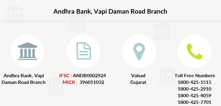 Andhra-bank Vapi-daman-road branch