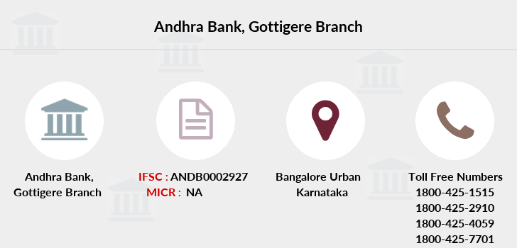 Andhra-bank Gottigere branch