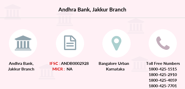 Andhra-bank Jakkur branch