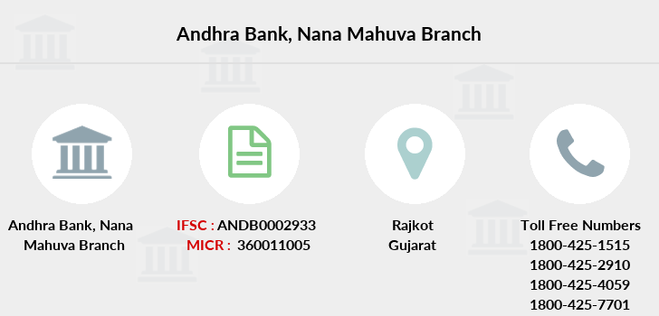 Andhra-bank Nana-mahuva branch